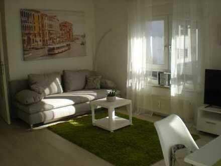 Voll möblierter 2-Zimmerwohnung mit sonnigem Balkon