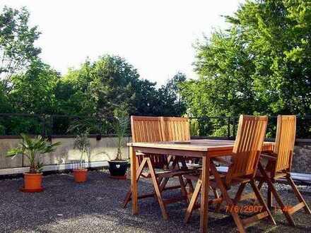 Ideal für Pendler - 3 ZKB Wohnung mit 40m² Terrasse - provisionsfrei vom Eigentümer