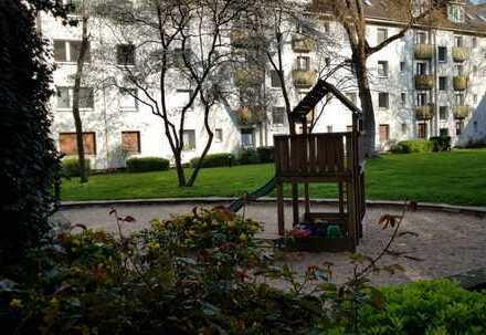 Helle freundliche 1 Zimmer Wohnung mit parkähnlichem Innenhof in Köln Lindenthal zu verkaufen