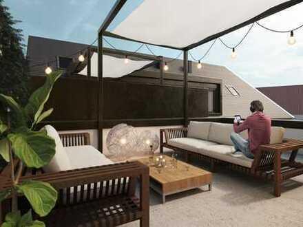 Der Dreiseithof | Helle 3-Zimmerwohnung mit geräumiger Dachterrasse in Mainz-Drais!