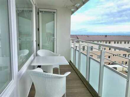 Kaiserstraße Norderney - 2 Raum Wohnung mit Balkon