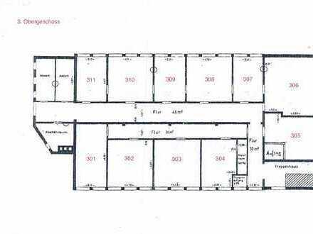 73207 Plochingen: 2 Büroräume + Stellplatz am Bahnhof / 3.OG / Aufzug