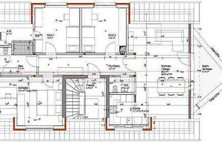 Erstbezug mit Einbauküche und Balkon: attraktive 4-Zimmer-DG-Wohnung in Herrberg