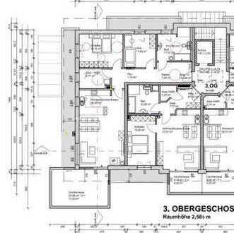 Penthouse-Wohnung im Zentrum