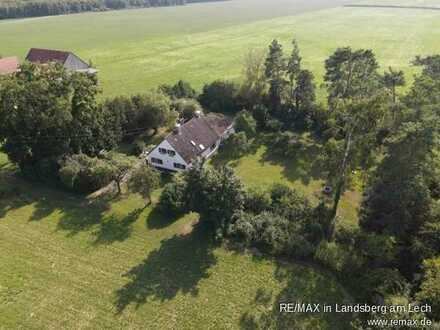 EFH-Baugrundstück für Naturliebhaber nahe Landsberg am Lech