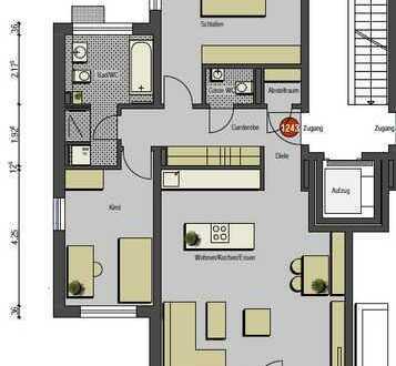 Sonnige 3-Zimmerwohnung mit Loggia
