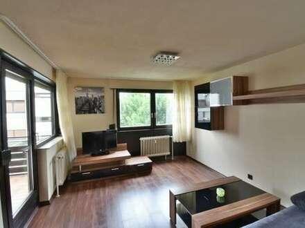 Mitten in der Stadt und sofort frei: Möblierte 2-Zimmerwohnung