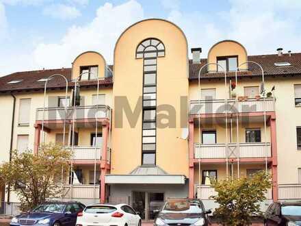 Doppelte Kapitalanlage in Rheinau: Wohneinheit mit 2 vermieteten Apartments und Balkons