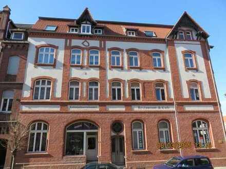 Schöne 2-Raum-Dachgeschoss-Wohnung mit Balkon in Stendal