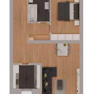 Smartes 2-Zimmer Neubau Appartement mit hochwertiger Ausstattung