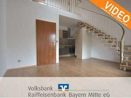 Stadtnahe 2-Zimmer-Maisonette-Wohnung