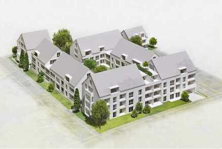 Neubau/Erstbezug, wunderschöne 3-Zimmer-Wohnung in ruhiger Lage mit großem Balkon