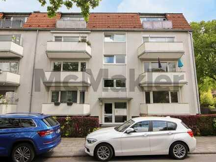 Perfekt geschnittener 2-Zi.-Wohntraum mit Balkon in Rheinnähe im beliebten Rodenkirchen