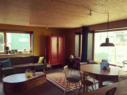 Urbane 3 Zimmer Wohnung mit Balkon und Gartenmitbenutzung in Heidelberg
