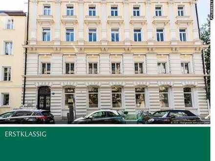 Bestlage Lehel: repräsentative Büroetage in Denkmal Objekt