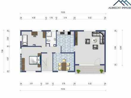 Zweifamilienhaus mit großem Garten- ruhige Lage -neue Heizung - neues Dach - DG ausgebaut