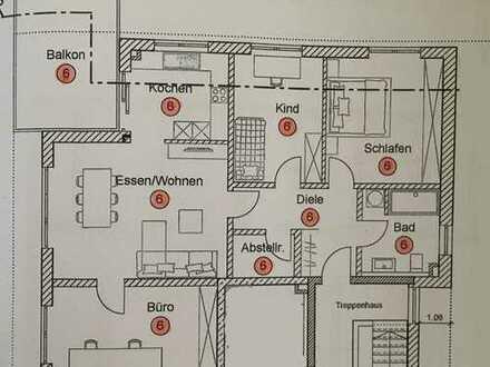 Erstbezug mit Balkon: hochwertige 4-Zimmer-Wohnung in Mainburg