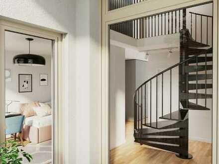Neubauprojekt AUGARTEN - Top Penthouse-Maisonette mit Südwestausrichtung!