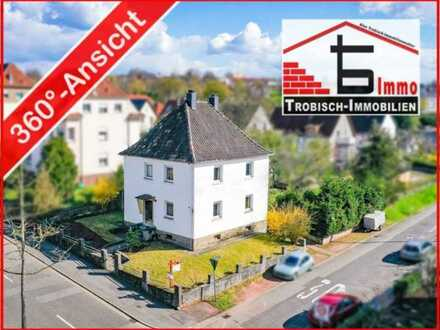 Stadtvilla im Dornröschenschlaf - Toplage in Zweibrücken - Trobisch Immobilien