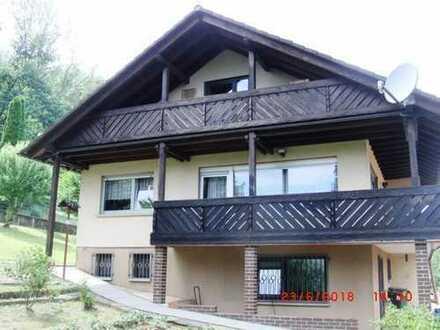 Idyllisches freistehendes Einfamilienhaus mit Einliegerwohnung am Waldrand von Mörlenbach