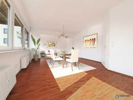 Großzügige 4 Zimmer Wohnung mit Balkon...