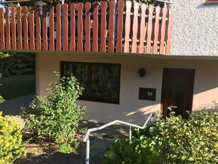 Ansprechende 2-Zimmer-Terrassenwohnung mit Balkon in Erbach