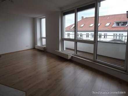 Vermietete sonnige Maisonette-Wohnung mit Balkon