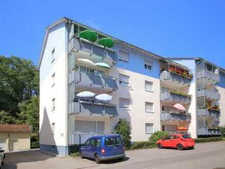 Charmante, gut vermietete 2-Zimmer-Wohnung mit Balkon in ruhiger Lage, ideal für Kapitalanleger
