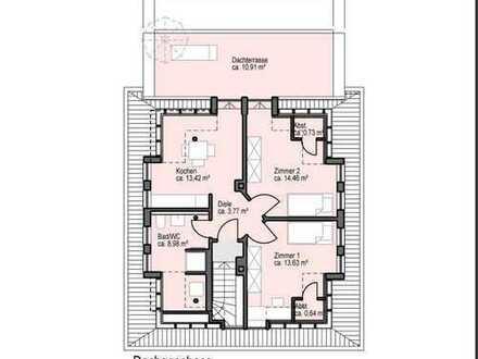 Schöne zwei Zimmer Dachgeschosswohnung in Duisburg, Dellviertel