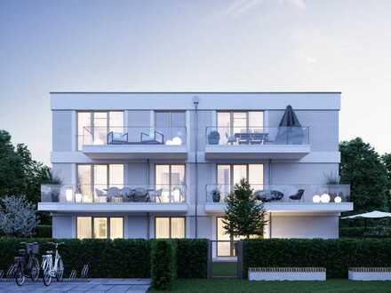 Niveauvolle 2-Zimmer-Dachgeschosswohnung mit West-Balkon im zauberhaften Harlaching