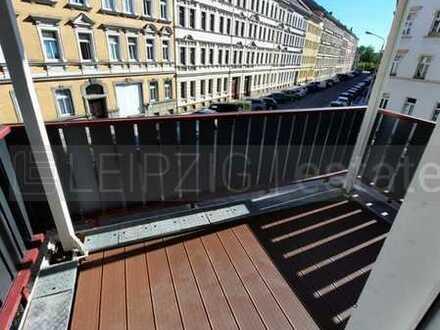 Lichtdurchflutete 4-Raumwohnung mit Balkon***EBK möglich