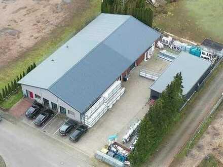 KAUF oder MIETE: Werkstatt mit Büro und Lagerfläche - NEUWERTIG