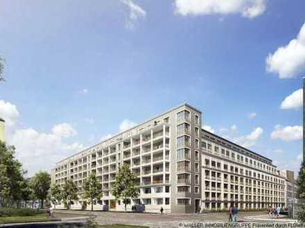 Modernes Bogenhausen - moderne 2-Zi.-Whg. - mit schönen Ausblick vom 5. OG
