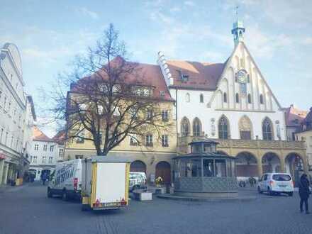Besichtigung 22.12.18:Zentrum-Amberg: charmantes Münzhaus aus d. 18. Jhdt. mit stabiler Rendite