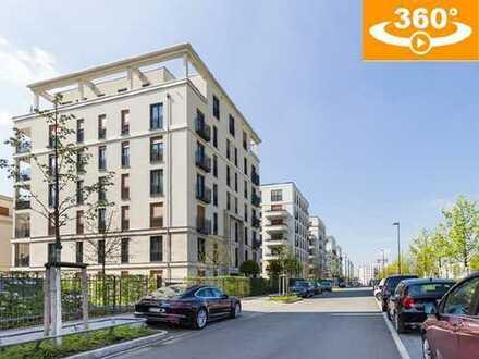 Europaviertel: Neu- und hochwertige 4-Zi.-Whg. (135 m² Wfl.) mit Fernblick und TG-Stellplatz