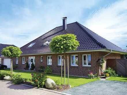 HÄUSER FÜR'S LEBEN - altersgerecht gebaut - der Winkelbungalow mit 5 Zimmern in Oberkrämer
