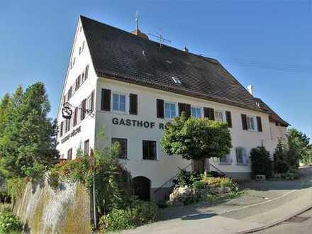 Ehemaliger Gasthof im Zentrum von Jagstzell