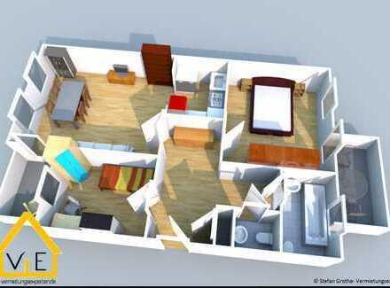 Individuelle Aufteilung mit 2 Balkone und *Gäste-WC*