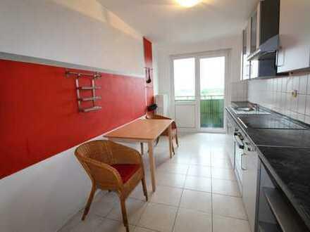 Gepflegte 2-Zimmer-Wohnung mit EBK und tollem Ausblick
