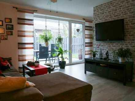 Neuwertige 3-Zimmer-Erdgeschosswohnung mit Terrasse und Garten in Vechta