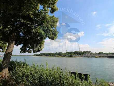 Wohnen direkt am Rhein - Helle 3-Zimmer-Wohnung mit 2 Stellplätzen!