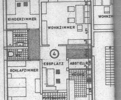 Großzügige, gepflegte 3,5-Zimmer-EG-Wohnung mit Balkon und Einbauküche in Bietigheim-Bissingen
