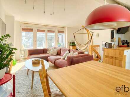 Maisonette-Wohnung in Malsch:  3 Zimmer mit Balkon und Keller als Kapitalanlage