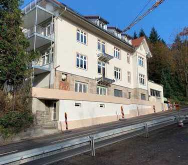 Erstbezug nach Kernsanierung, gr. Maisonettewohnung mit Kaminofen, EBK und Super Ausblick gr. Balkon