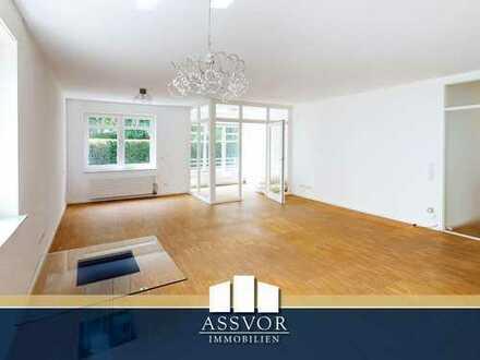 Ruhig gelegene 3-Zimmer-Wohnung mit Balkon und Wintergarten in direkter Rheinnähe!