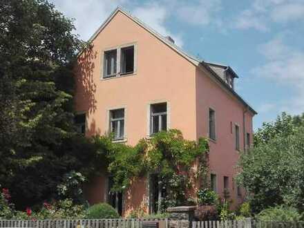 Einfamilienhaus-Idylle am Dorfplatz Löbtau