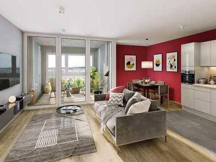 Helle & freundliche 3-Zimmer-Wohnung mit eigener Terrasse!