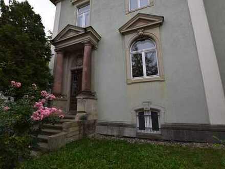 Firmenrepräsentanz mit Glasfaseranschluß - Denkmalgeschützte Bürovilla im Dresdner Süden