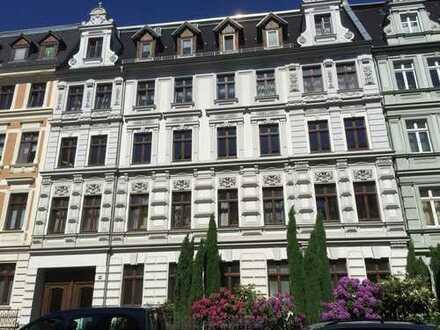 Ruhig wohnen in der Innenstadt - Schöne 2-Raumwohnung mit großem Balkon in der Augustastraße