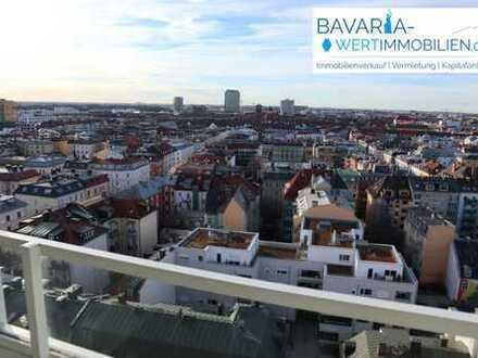 Traumhafte 2-Zimmerwohnung mit exklusiver Aussicht - zentral im Herzen Münchens (Theresienwiese)